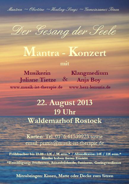 Konzert Anja Tochtermann