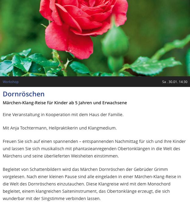 Märchenklang Dornröschen Anja Tochtermann